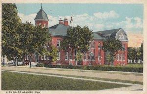 EASTON , Maryland , 1922 ; High School