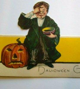 Halloween Diecut Place Card Wizard Warlock Boy Magic Potion JOL Nash Series 1341