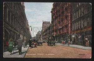 102230 UK Buchanan street Glasgow Vintage Valentine's PC