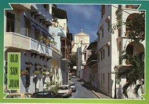 Vintage Postcard-Old San Juan, Puerto Rico