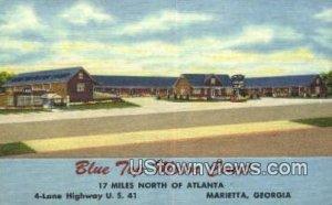 Blue Top Motor Court - Marietta, Georgia GA
