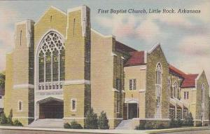 Arkansas Little Rock First Baptist Church