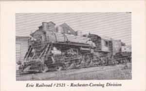 Trains Erie Railroad No 2521 Rochester0Corning Division