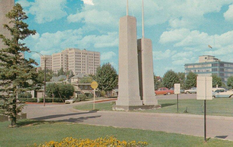 EDMONTON , Alberta , Canada , 1968 ; Federal & Telephone Buildings