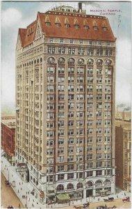 1912 The Masonic Temple, Chicago, ILL,