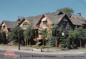 VIEUX-LONGUEUIL, Quebec, PU-1989; Le Relais Terrapin, Restaurant Historique e...
