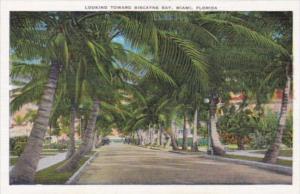 Florida Miami Looking Toward Biscayne Bay
