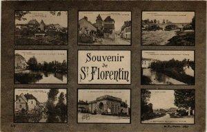 CPA  Souvenir de St-Florentin (658505)