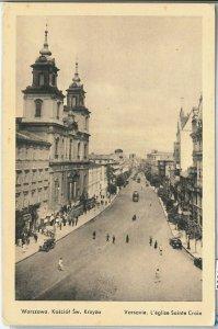 66306  - Polen POLAND - Ansichtskarten  VINTAGE POSTCARD -  WARSAW  Warszawa