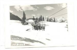 RP, Chair Lift, Mt. Baker, Washington, 1920-1940s