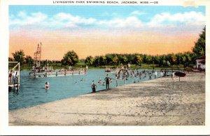 Mississippi Jackson Livingston Park Swimming Beach