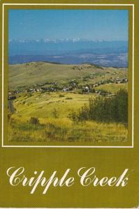 Colorado Cripple Creek & The Sawatch and Sangre De Cristo Ranges