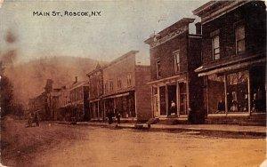 Main Street Roscoe, New York