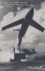 SPACE ; 50-60s ; USAF B-61 Martin Matador Flightless Bomber Rocket