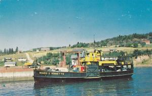 Traversier Romeo Et Annette Ferry Boat, Meguasha , Que-Dalhousie , New Brunsw...