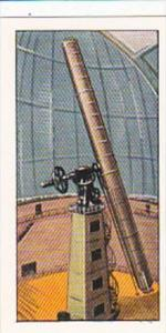 Amaran Tea Trade Card 20th Century Science No 5 Giant Telescope