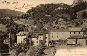 CPA Hameau de la Barraque a la Sortie des Grands GOULETS (583608)