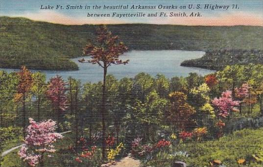 Arkansas Fort Smith Lake Fort Smith In The Beautiful Arkansas Ozarks On U S H...