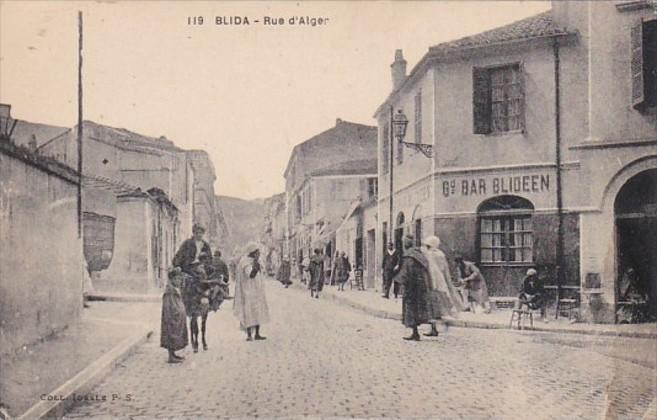 Algeria Blida Rue d'Alger