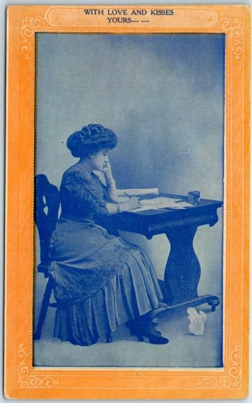 1910s Salina Kansas Ad Postcard The Western Seed House Red Texas Seed Oats