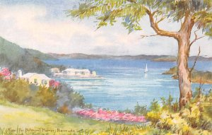 Bermuda Post card Old Vintage Antique Postcard From the Belmont Manor Unused