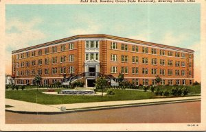 Ohio Bowling Green Kohl Hall Bowling Green State University Curteich
