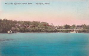 Maine Ogunquit Along The Ogunquit River Bank Albertype