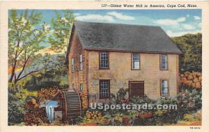 Oldest Water Mill in America Cape Cod MA 1930