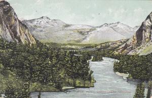 Bow River , BANFF , Alberta ,Canada , 1900-10s