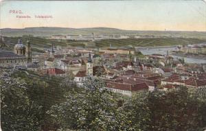 PRAG, Czech Republic, 1900-1910's; Kleinseite, Totalansicht