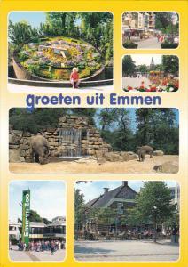 Netherlands Groeten uit Emmen Multi View