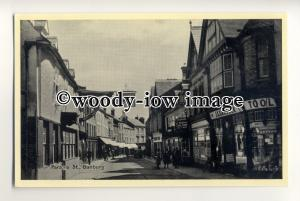 tp0671 - Ox'shire - Parsons Street by Brown's Cake Shop, in Banbury  - Postcard