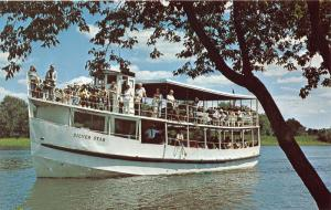 Essex Connecticut~The Valley Railroad Riverboat Silver Star Ride on River~'60s
