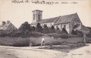 MOULT. , France , 1922 , L'Eglise