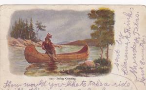 Indian Canoeing, PU-1905