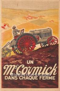 Advertising Postcard - Old Vintage Antique  Un McCormick Dans Chaque Ferme