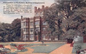 Gawthorpe Hall, Padiham, Lancashire & Yorkshire Chemin de Fer D'Angleterre