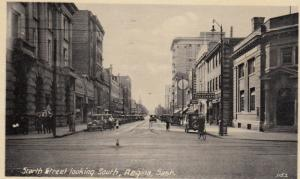REGINA, Saskatchewan, Canada, 1900-1910s; Scarth Street Looking South