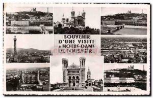 Modern Postcard Souvenir Lyon
