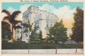 LOS ANGELES, California, 1900-10s; Home of Sessue Hayakawa, Hollywood