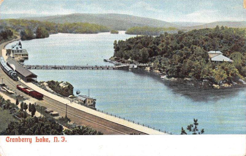 Vintage Postcard Cranberry Lake, New Jersey, USA, United States A74