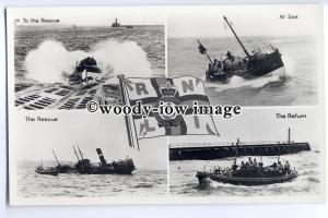 su2216 - Lifeboats of the RNLI - multiview postcard