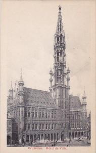 Belgium Brussells Hotel De Ville