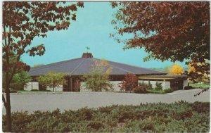 VTG postcard, Sales Pavilion At Keeneland Race Course, Lexington, Kentucky