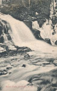 Moores Falls at Kentville NS Nova Scotia Canada (Caption More's Falls) - pm 1906