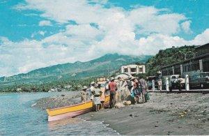 ST. PIERRE , Martinique, F.W.I., PU-1977 Fresh fish