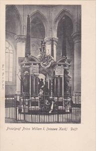 DELFT, South Holland, Netherlands, 1890s ; Praalgraf Prins Willem I