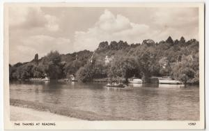 Berkshire; The Thames At Reading RP PPC, 1957 PMK, By Photochrom