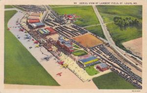 Aerial View of Lambert Field, St. Louis, Maryland, 30-40s
