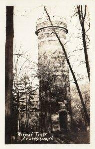 RP: BRATTLEBORO , Vermont , 1930-40s; Retreat Tower